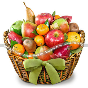 Cheerfulness - a fruit basket